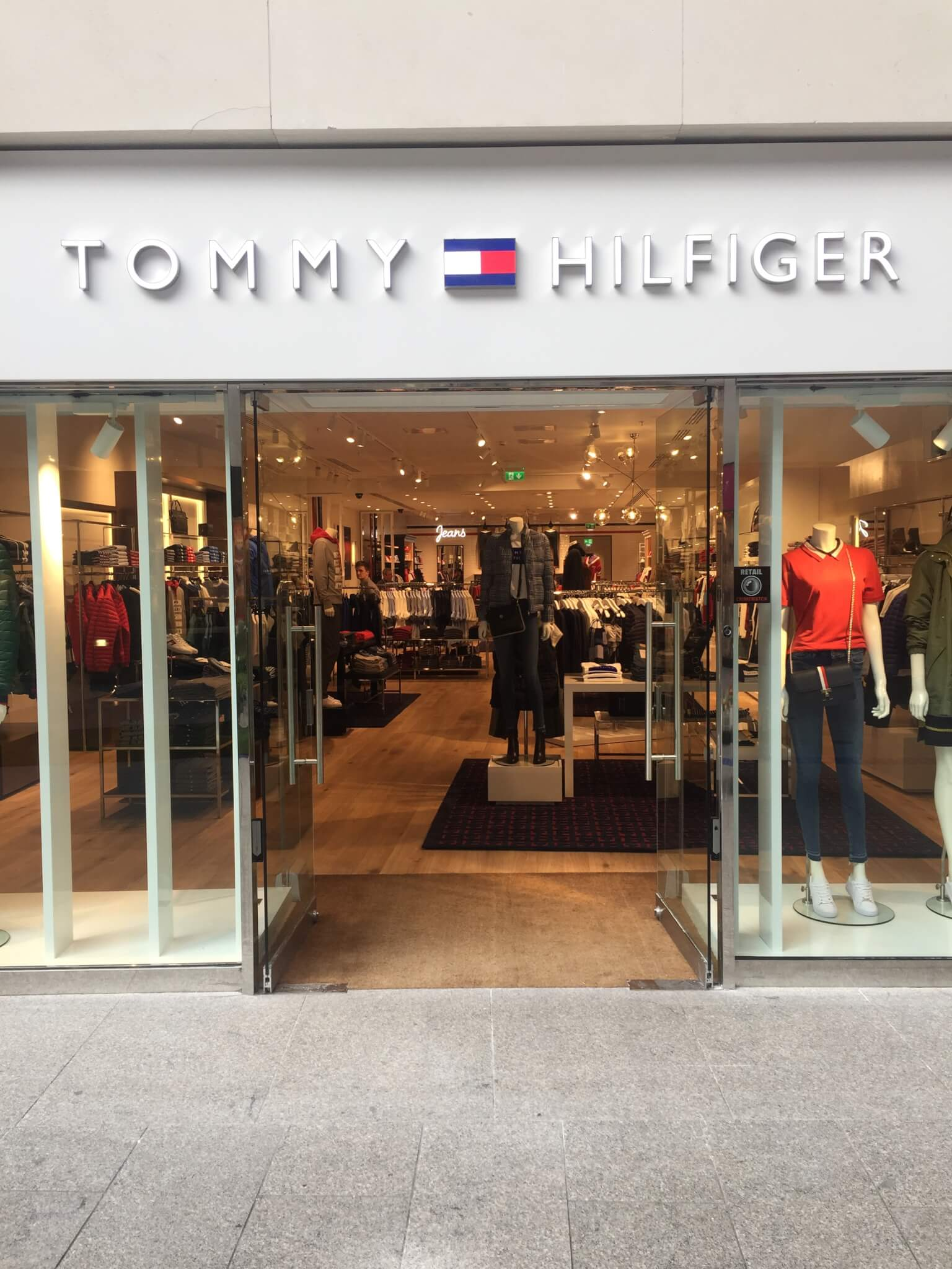 NEW Tommy Hilfiger Store Now Open! Victoria Square